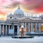 Basilica di San Pietro, Vatican, Rome, Italy — Stock Photo #11790615