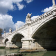 Bridge of Angels in Rome, Italy — Stock Photo