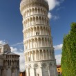 Stock Photo: Leaning tower of Pisa, Italy
