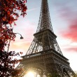 Eiffel Tower during spring time in Paris, France — Stock Photo #11796829