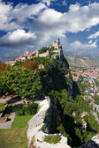 Castle in San Marino republic, Italy — Stock Photo