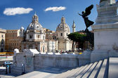 ローマ、ヴェネツィア広場、ヴィットリオ ・ エマヌエーレ — ストック写真