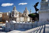 Rome,Vittorio Emanuele, Piazza Venezia — Stock Photo