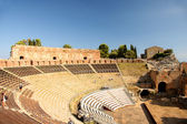 Taormina theater in Sicily, Italy — Stock Photo