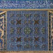 Stock Photo: Tiled background in mosque. Isfahan. Iran