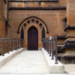 Weelchair entrance to Cathedral — Stock Photo