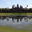Angkor Wat temple. Siem Reap. Cambodia. — Stock Photo