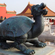 Statue at Forbidden City. Beijing. China. — 图库照片 #10783920