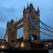 Tower Bridge at dusk. London. UK. - Stock Photo