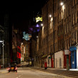 Old town at night. Edinburgh. Scotland. UK. — Stock Photo #10788969