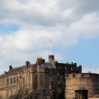 Edinburgh Castle by day. Scotland. UK. - Stock Photo