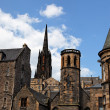 Grassmarket area. Edinburgh. Scotland. UK. — Stock Photo