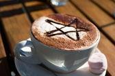 Café. estilo de nueva zelanda — Foto de Stock