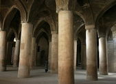 Interior Jameh (Friday) Mosque. Isfahan. Iran — 图库照片