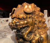 Palácio de três grandes salões. cidade proibida. beijing. china. — Foto Stock