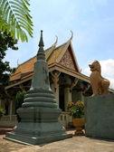 Wat phnom, phnom penh. camboya — Foto de Stock