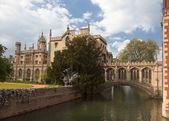 St John's College. Cambridge. UK. — Stock Photo