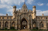 St Johns College. Cambridge. UK. — Stock Photo