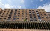 Block of flats in Docklands. London. UK — Stock Photo
