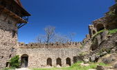 Monastério de david gareja complexo geórgia. — Fotografia Stock