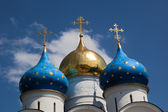 Assumption Cathedral. Sergiev Posad. Russia. — Stock Photo