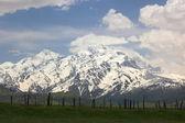 Mountains landscape near Mestia village. Upper Svaneti. Georgia — Stock Photo