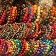 Assortment of colourful bracelets on Cat Street Market stand. Hong Kong — Stock Photo #10801567