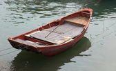 Old moored dinghy. Cheung Chau. Hong Kong. — Stock Photo