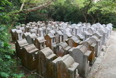 Cemetery on Cheung Chau Island. Hong Kong. — Stockfoto