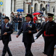 Veterans parade. London. UK. — Stock Photo