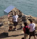 Sculpture by the sea exhibition, Bondi, Australia — Stock Photo