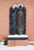 Girişine John baptist Manastırı vyazma içinde heykel. Smolensk bölgesi. Rusya. — Stok fotoğraf