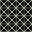 Royalty-Free Stock Photo: Double grate