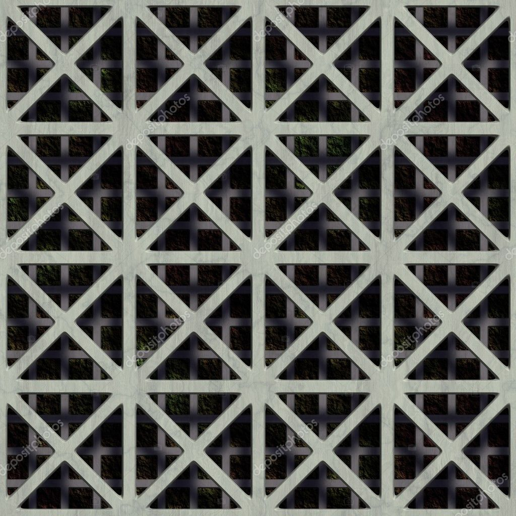 Double grate. Seamless texture. — Stock Photo #10785137