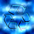 Recycling symbol — Stock Photo #10804566
