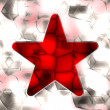 Royalty-Free Stock Photo: Red star