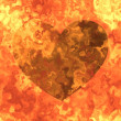 Burning heart — Stock Photo #10805552