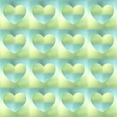 Holographic hearts. seamless background — Stock Photo