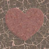 разбитое сердце — Стоковое фото