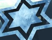 Star of david — Stock Photo
