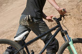 Cyklist. — Stockfoto