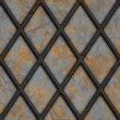 Stock Photo: Rusty lattice