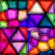 Stock Photo: Multicolour stained glass