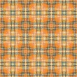 Orange plaid - Stock Photo