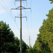 Royalty-Free Stock Photo: Electric power lines