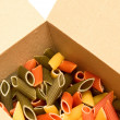Royalty-Free Stock Photo: Pasta in box