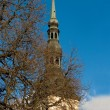 St. Nicholas Church. Tallinn, Estonia. — Stock Photo