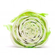Cut chinese cabbage — Stock Photo