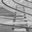 Tram rails — Stock Photo #10939013