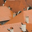 Stock Photo: Tile roofs